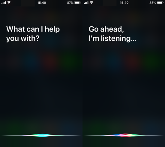 Ask Siri to Check Your iPhone Microphone