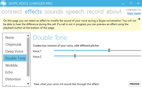 Skype Voice Changer is best Voice Changing Apps & Software for Skype.