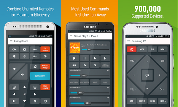Smart IR Remote is best free IR Universal Remote Control Apps for Android.