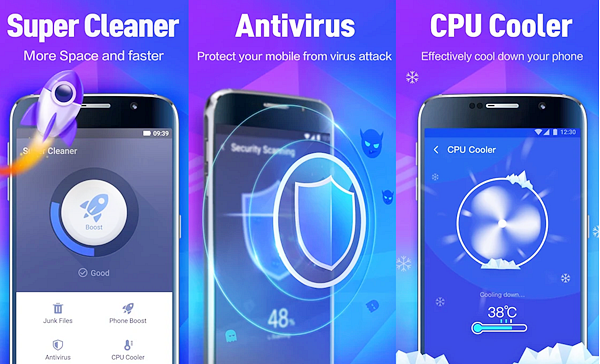 Super Cleaner is best free Cleaner and Booster Apps for Android Phones.