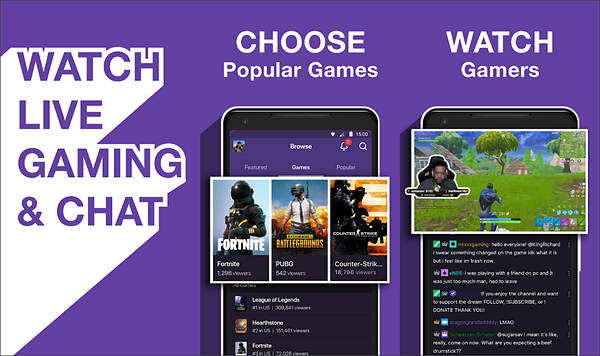 Twitch is best free Android TV Apps Not to be Missed.