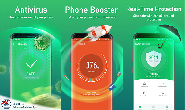 Virus Cleaner is one of the best Free Virus Removal Apps for Android.