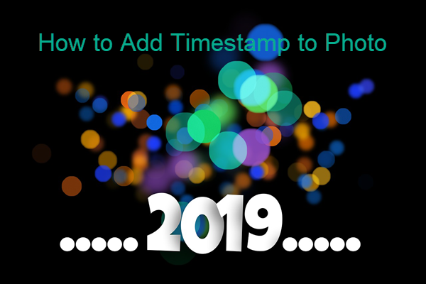 How to Add Timestamp to Photos.