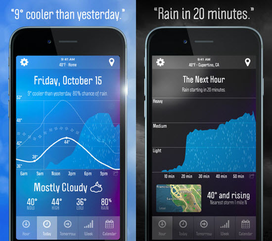 Weather Nerd is best Weather Apps for Your Apple Watch.