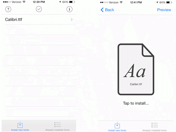 How to Change the Font Style on iPhone/iPad without Jailbreaking