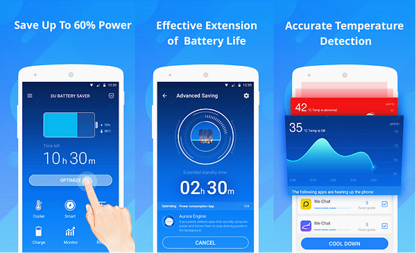 DU Battery Saver is one of the best Battery Saver Apps for Android.