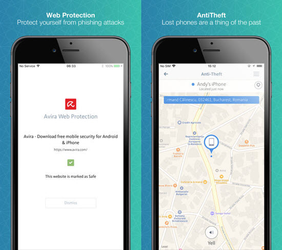 Avira Mobile Security is one of the Top iPhone Antivirus Apps in 2019.