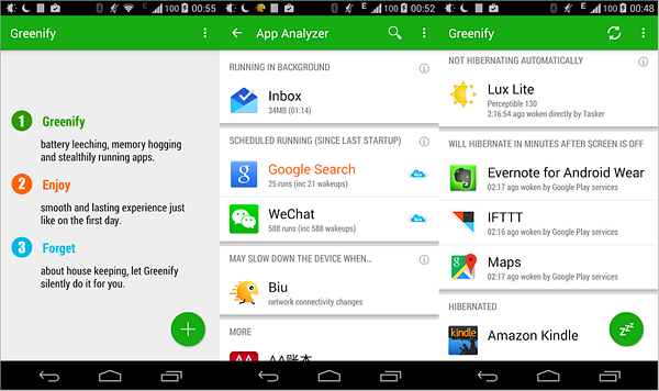 Greenify is one of the best Battery Saver Apps for Android.