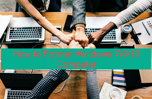 how to format and install windows 10 in hp laptop