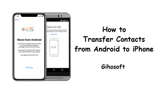 How to Transfer Contacts from Android to iPhone.