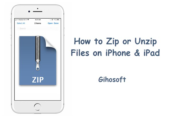 How to Create or Open Zip/Rar Files on Your iPhone