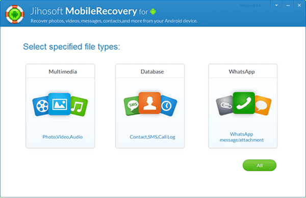 Jihosoft Android Data Recovery is one of the best Free Android Data Recovery Software to Restore Deleted Files.