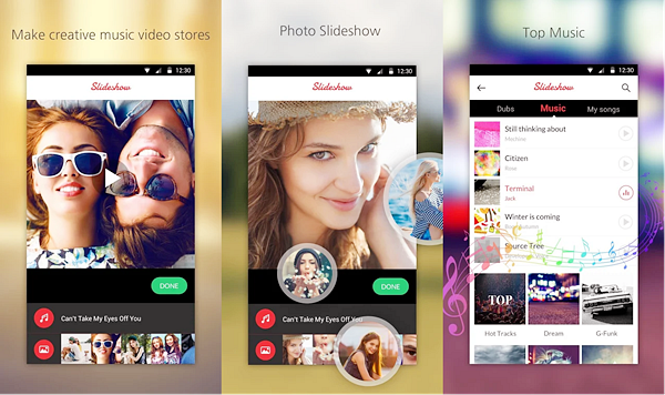 Music Video Maker is best Photo Video Maker Apps for Android.