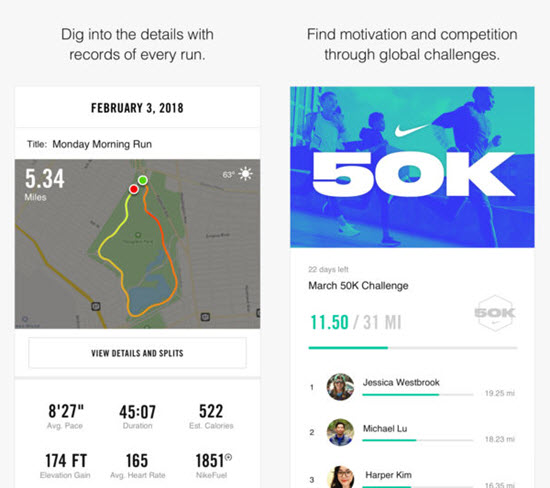 Nike+ Run Club is best Running Apps For iPhone & Apple Watch to Keep Your Fitness.