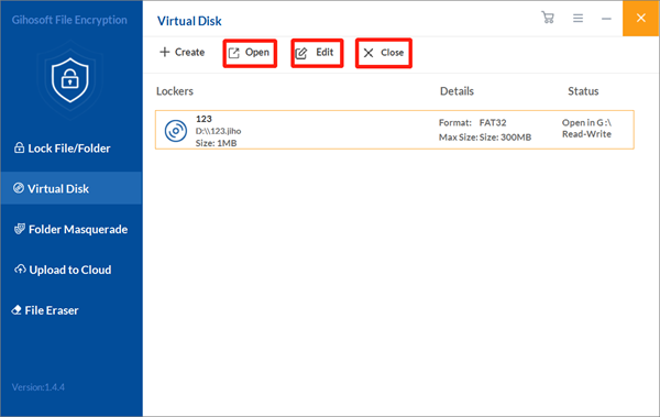 How to Create a Virtual Disk in a Corresponding Location