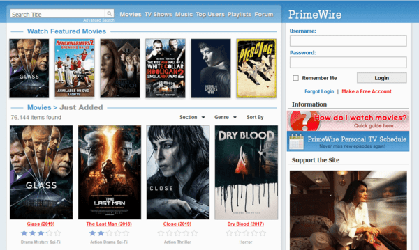Another very great option for the users as a suitable alternate of the Solarmovie website.