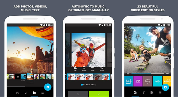 Quik is best Photo Video Maker Apps for Android.