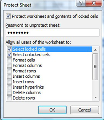 How to Password Protect an Excel File with Excel's Built-In function