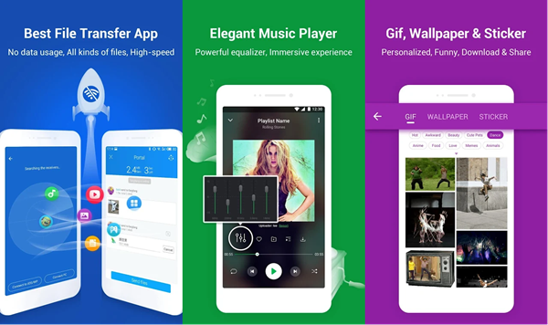 SHAREit is best Android File Transfer Alternatives.