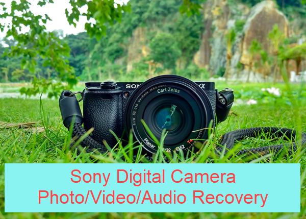 Free Sony Camera Recovery Software to Recover ARW/SR2/JPG Photos
