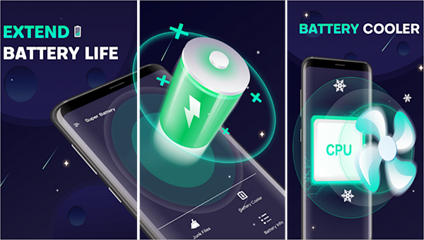 Super Battery is one of the best Battery Saver Apps for Android.
