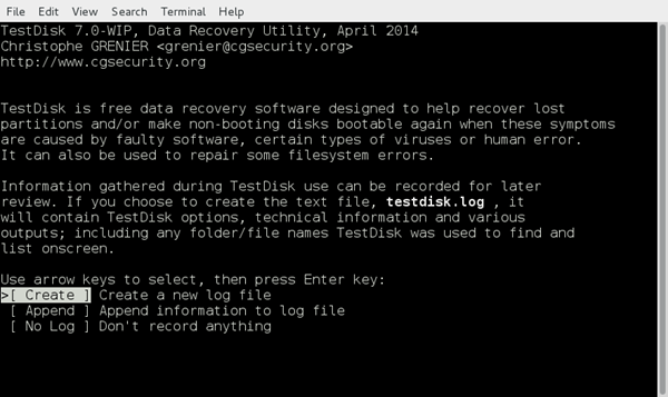 TestDisk is Best Open Source File Recovery Software.