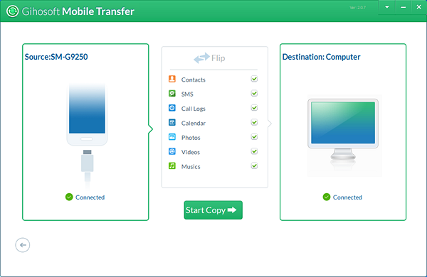 Easy Steps to Transfer Files from Android to PC/Mac