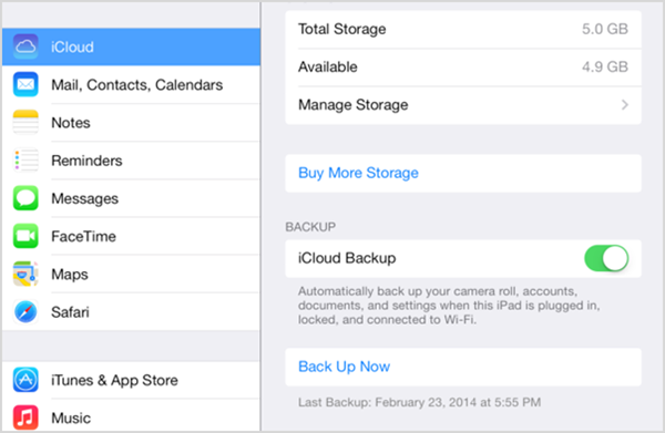 Transfer Text Messages from iPhone to iPhone with iCloud Backup