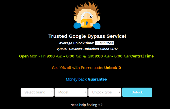 12 Best FRP Bypass Tools to Bypass Google Account on Android