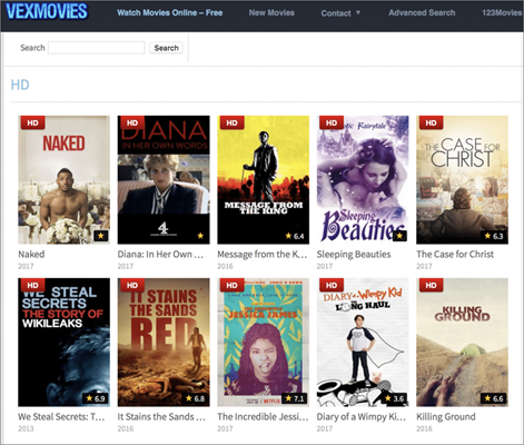 VexMovies is one of the best Alternative Sites to Solarmovie for You.
