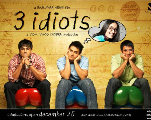 3 Idiots is one of Top Best Bollywood Movies for You to Watch and Download.