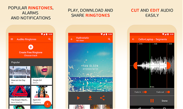 Audiko is Best Ringtone Maker Apps for Android.