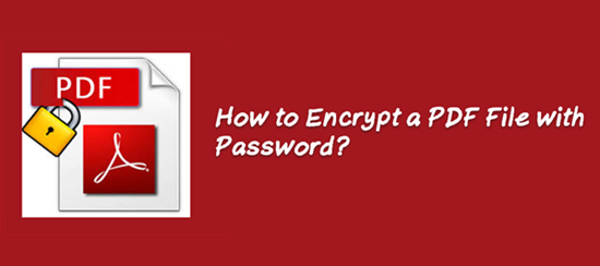 In this case, encrypting PDF files with a password is especially of significance.