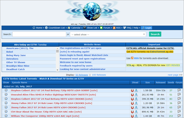 EZTV Torrent is Top Best Alternative Websites to Torlock For You.