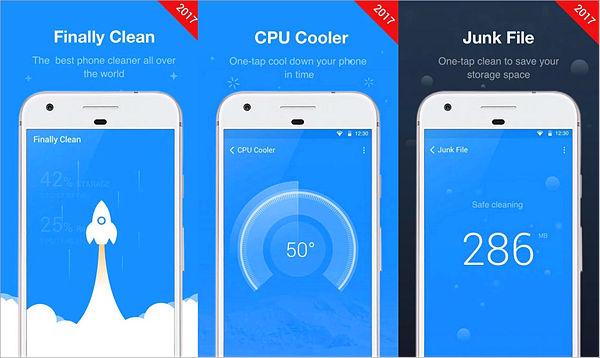 Finally Clean: Booster, CPU Cooler is Best Phone Cooling Apps