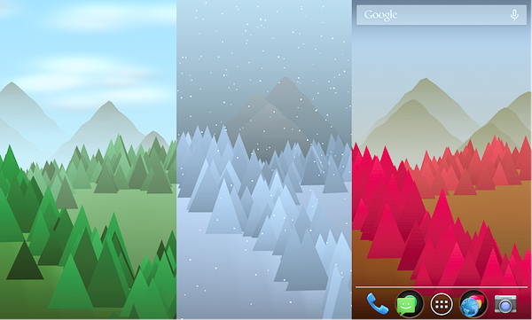 Forest Live Wallpaper is best Free 3D & HD Live Wallpaper Apps for Android.