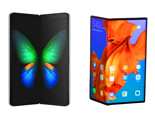 Galaxy Fold vs Mate X – The Design.