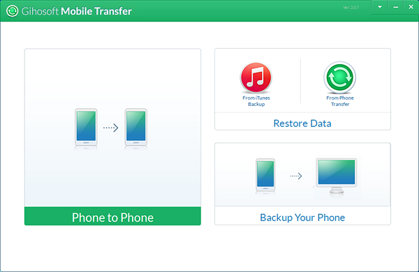 Gihosoft Mobile Phone Transfer is Best Photo Transfer Apps for Android Users.