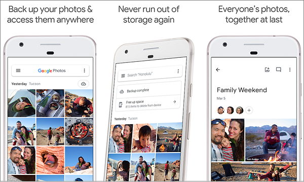Google Photos is Best Photo Transfer Apps for Android Users.
