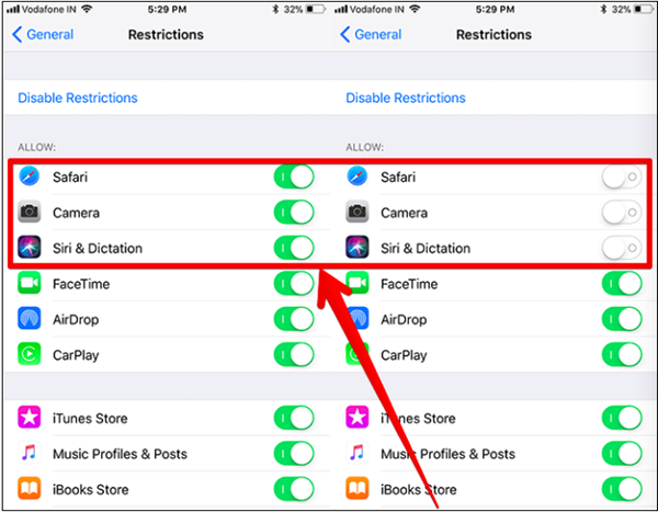 How to Hide Pre-installed Apps on iPhone and iPads (iOS 11 & Before)