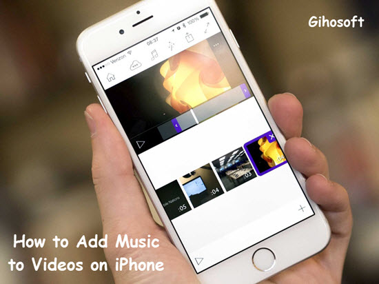 How to Add Music to iPhone Videos without iTunes