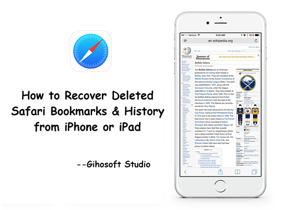 How to Recover Deleted Safari Bookmarks & History on iPhone