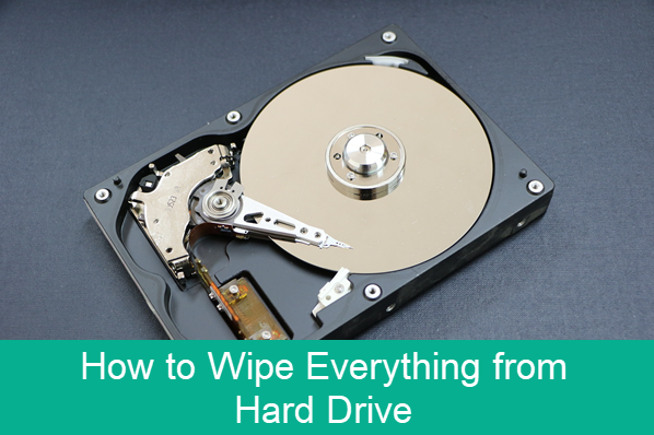 How to Wipe Hard Drive on PC