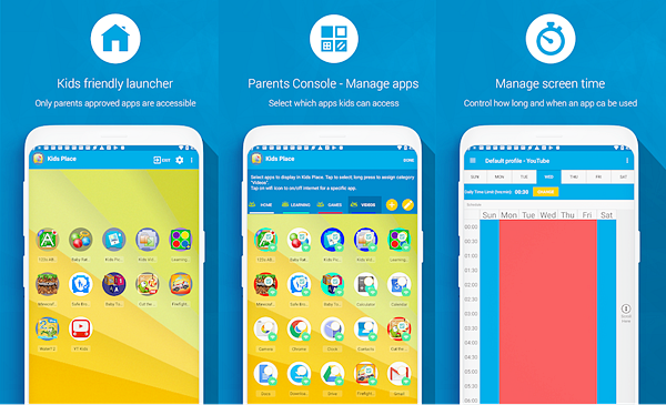 Kids Place is best Free Parental Control Apps for Android.