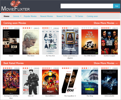 Movie Flixter is one of the top best Vumoo Alternative Sites for You.