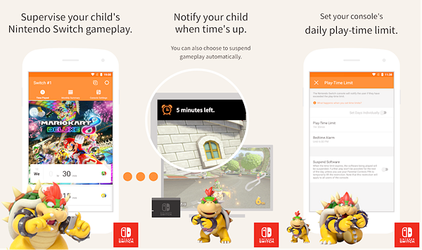 Nintendo Switch Parental Controls is best Free Parental Control Apps for Android.