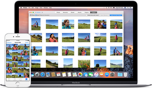 Transfer Media from iPhone to Mac using iPhoto App