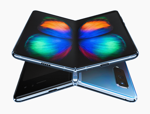 Samsung Galaxy Fold, Samsung Galaxy Fold vs Huawei Mate X.