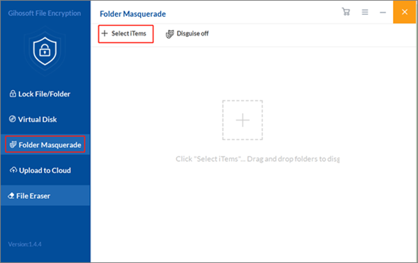 Hide Pictures on Computer Using Gihosoft File Encryption