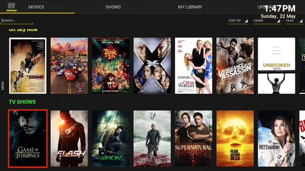 Showbox is one of the best Coke and Popcorn Streaming Website.